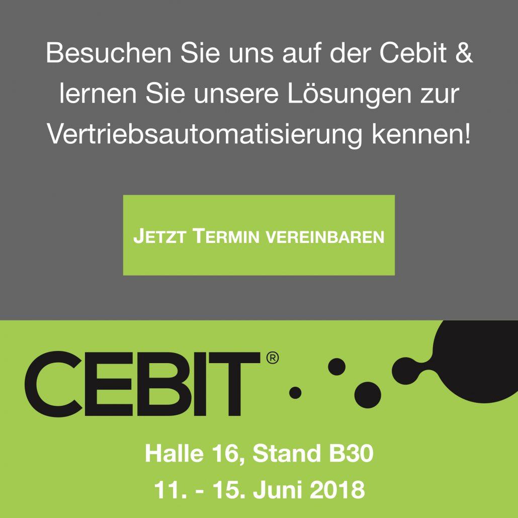 Cebit 2018 Leadlogic Popup
